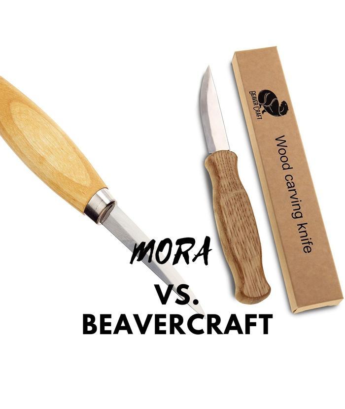 Beavercraft Wood Carving Knife Vs Mora Woodcarving4u